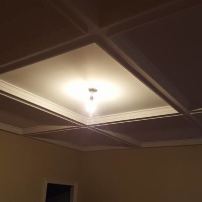 Master Bedroom Ceiling Light Installation in Heritage House Grimsby Ontario