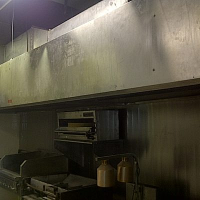 Cooking Equipment Installed - Exhaust Fan, Make Up Air Unit