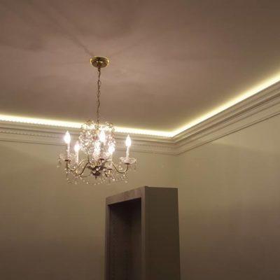 Master Bedroom Ceiling Light Installation in Heritage House Grimsby Ontario.jpg
