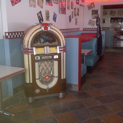 Fiftie's Diner Jukebox