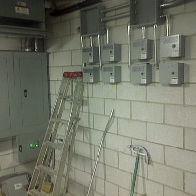 Multiple Power Distribution Systems of 600V and 120:240V and UPS at Police Station