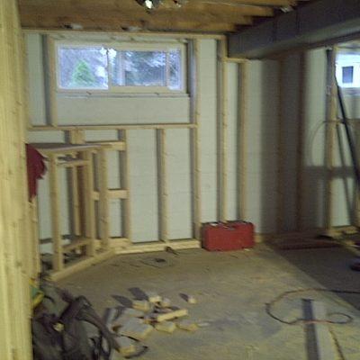 Basement Renovation in Oakville Ontario
