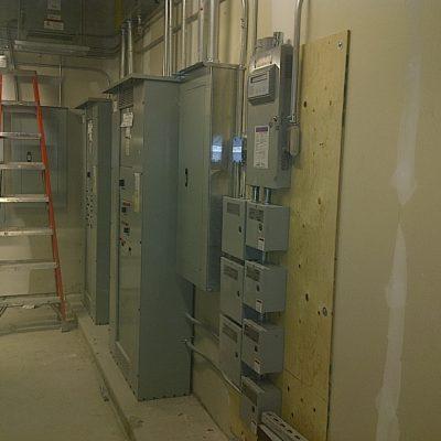 Transformer 120V, 600V 347V Lighting Panel Control For Parking Lot Lighting Zones