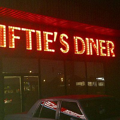 Fiftie's Diner Restaurant LED Lighting In Oakville Ontario