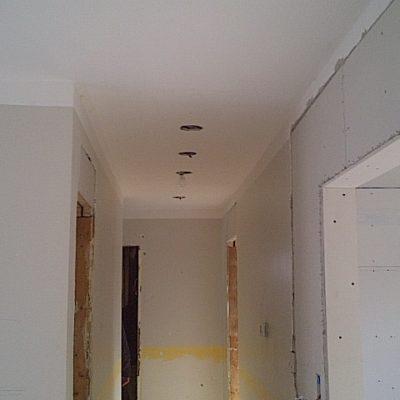 Pot Lights Installed During Renovation in Oakville Ontario