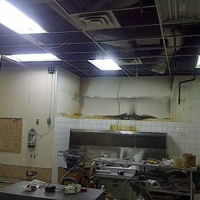 Before Diner Restaurant Renovations